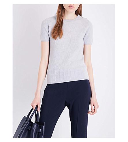MAX MARA Samba cashmere top (Grey