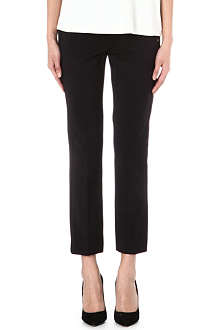 SPORTMAX Sandlo slim cropped trousers