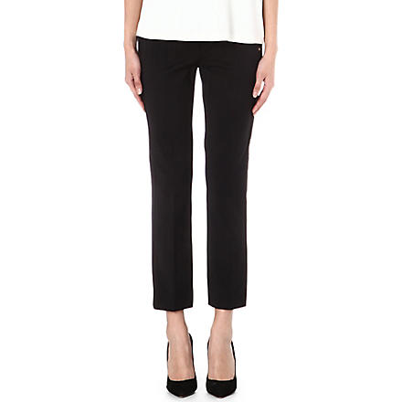 SPORTMAX Sandlo slim cropped trousers (Black