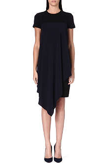 SPORTMAX Sarta stretch-crepe dress