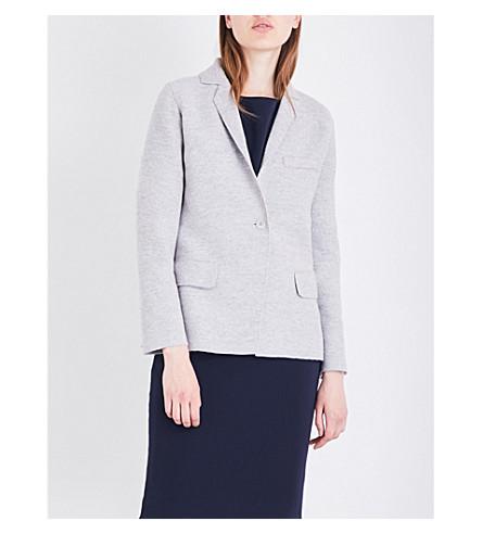 MAX MARA Segnale cashmere jacket (Grey