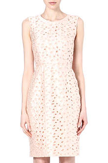 MAX MARA PIANOFORTE Lazer-cut shift dress