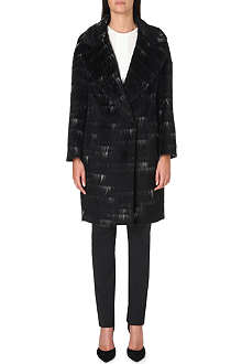 SPORTMAX Sierra alpaca and wool-blend coat