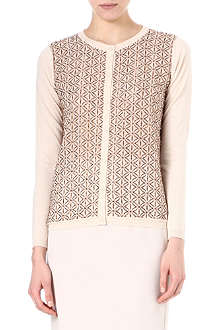 MAX MARA STUDIO Silva embroidered cardigan