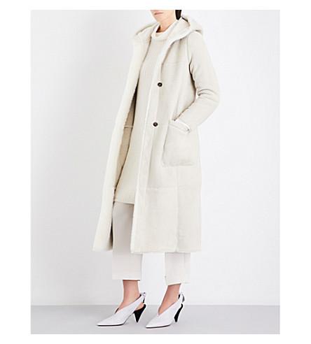 MAX MARA Simpaty shearling coat (White
