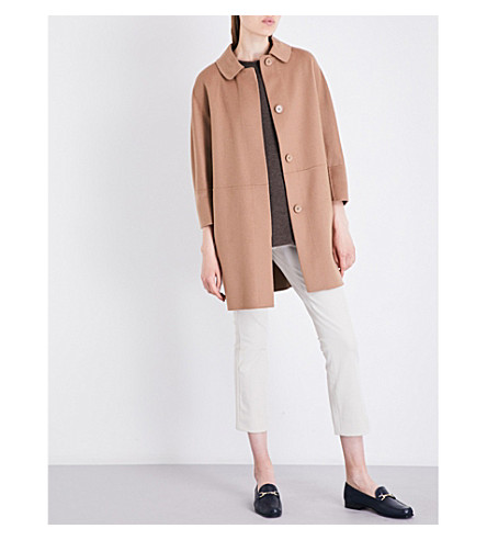 S MAX MARA Snack wool coat (Camel