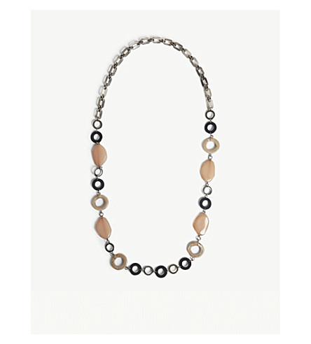 S MAX MARA Tivoli resin necklace (Pink