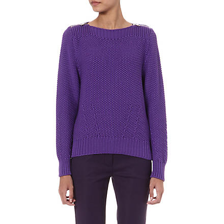SPORTMAX Stiria knitted jumper (Violet