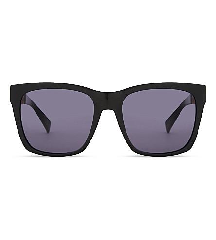 MAX MARA Stone square-frame sunglasses (Black