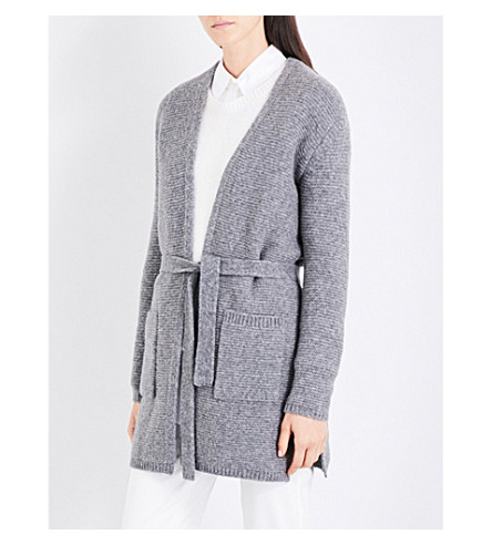 MAX MARA Stop knitted cardigan (Grey