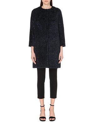 S MAX MARA Suez faux-fur coat