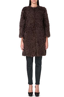 S MAX MARA Textured wool coat