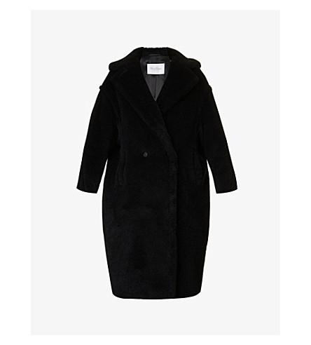 MAX MARA Teddy camel-blend coat (Black