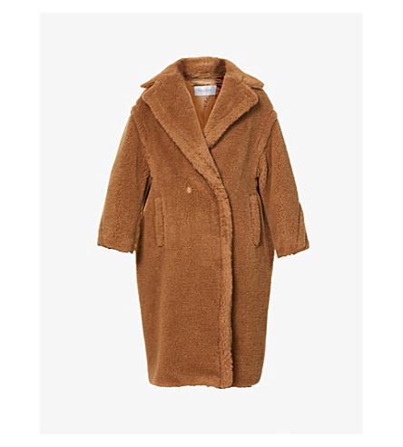 MAX MARA Teddy camel-blend coat (Camel