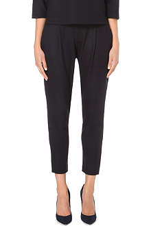 MAX MARA Slouch crop trousers