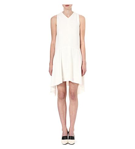 S MAX MARA Mohair-wool scarf (White