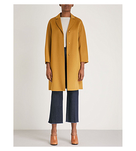Tisbe wool coat