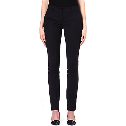 SPORTMAX Tokio slim-fit trousers (Black