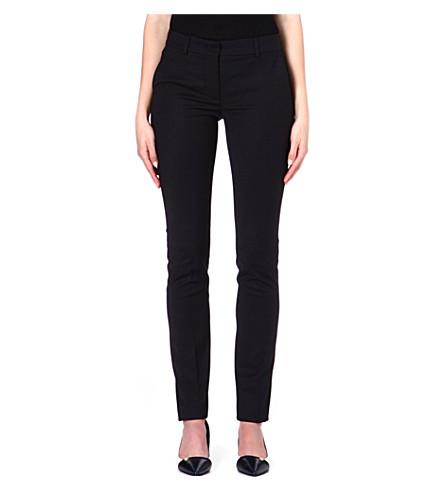 SPORTMAX Tokio slim-fit trousers (Black