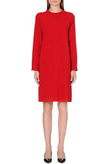 S MAX MARA Tullia stretch-crepe dress