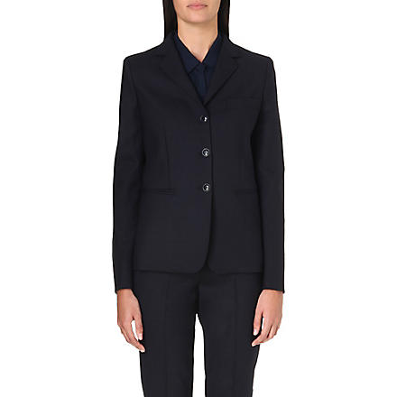 MAX MARA Ugola stretch-wool blazer (Navy