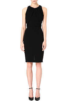 MAX MARA PIANOFORTE Ruched sleeveless dress