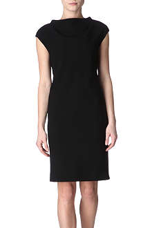 MAXMARA Cowl-neck shift dress