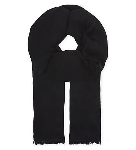 MAX MARA Upupa 丝巾 (黑色