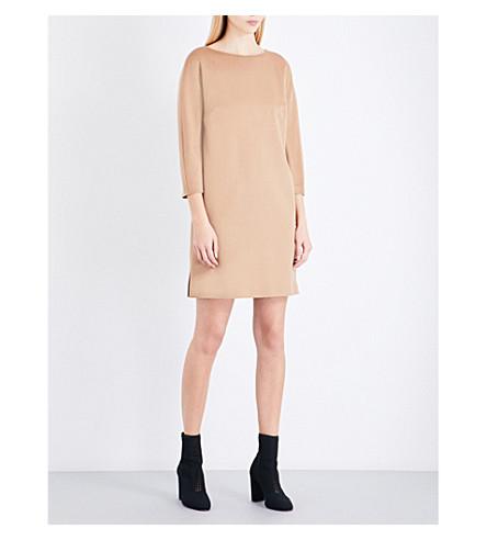 MAX MARA Side-slits camel hair dress (Camel