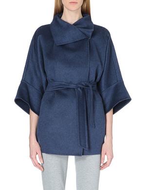 MAX MARA Urta cashmere wrap coat