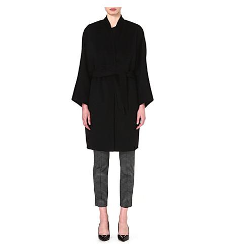 MAX MARA Cashmere wrap coat (Black