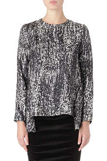 SPORTMAX Verusca silk top
