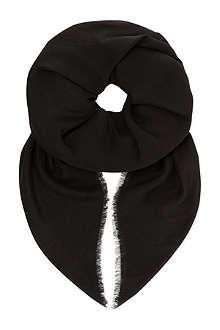 MAX MARA Wool-silk scarf