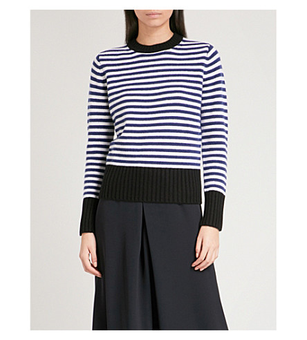 MAX MARA Virgin cashmere jumper (Navy
