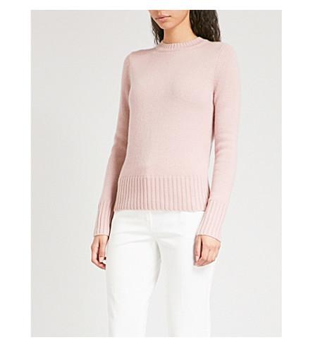 MAX MARA 处女羊绒毛衣 (粉红色