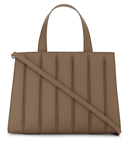 MAX MARA Whitney leather tote (Tobacco