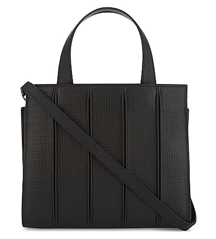 MAX MARA Whitney extra-small leather tote (Black
