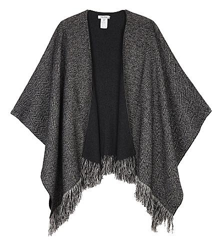 MAX MARA Wsdon cashmere shawl (Antracite
