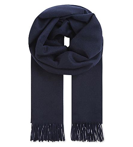 MAX MARA Cashmere scarf (Blue