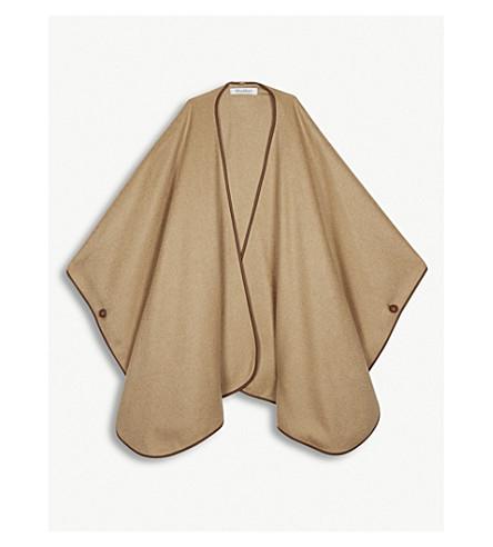 MAX MARA Sofia cashmere cape (Camel