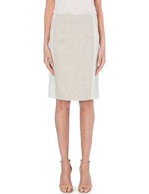 MAX MARA Zaffo double-faced wool skirt