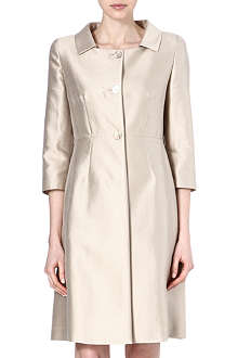 MAX MARA STUDIO Zaza silk-blend coat