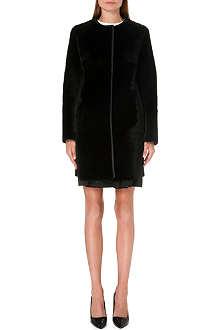 MAX MARA STUDIO Zelig collarless shearling coat