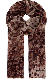 MAX MARA Speckled marble scarf