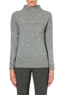 MAX MARA STUDIO Funnel-neck knitted jumper