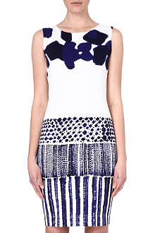 MAX MARA Abstract print dress