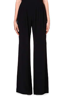MAX MARA PIANOFORTE High-waist wide-leg trousers