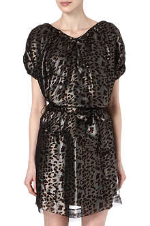 ANGLOMANIA Leopard print dress