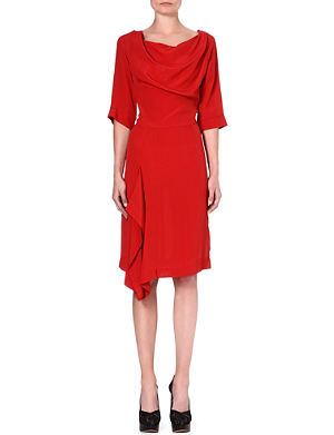 ANGLOMANIA Solstice crepe dress
