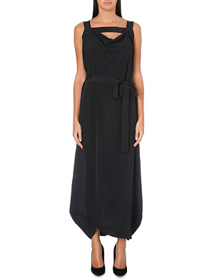 ANGLOMANIA Tigris crepe dress